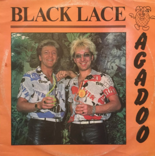 "Black Lace - Agadoo (12"") (G-/G-)"